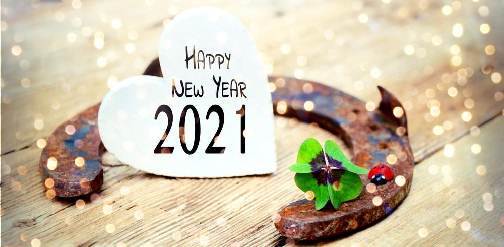 Viel Glück Im Neuen Jahr 2021